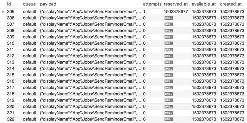 Laravel5.4 队列简单配置与使用
